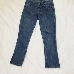 LC Lauren Conrad Dark Wash Denim Jeans Size 2